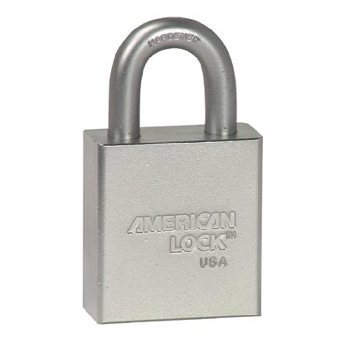 Steel Padlocks (Square Body W/Tubular Cylinder) 7-Pin Tumbler Padlock