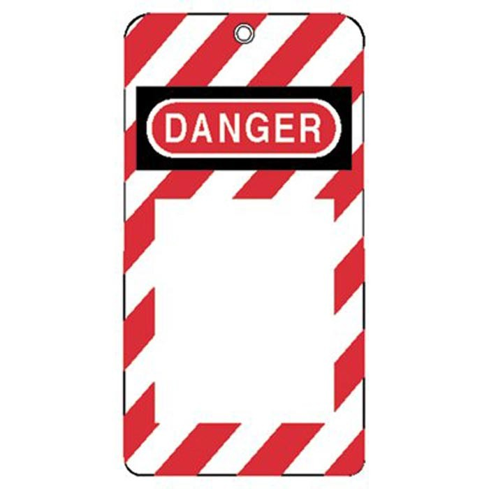 "3""X5-3/4"" Styrene Lock-Out Tag Do Not Oper"
