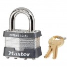 No. 1 Laminated Steel Pin Tumbler Padlocks 4 Pin Tumbler Safety Padlock Keyed Different
