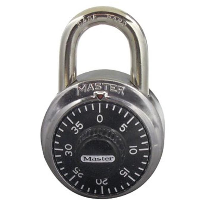 No. 1500 Combination Padlocks Master Comb. Lock