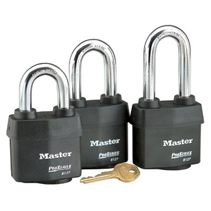 "5 Pin Weather Tough Padlock K D 2-1/2"" Shack"