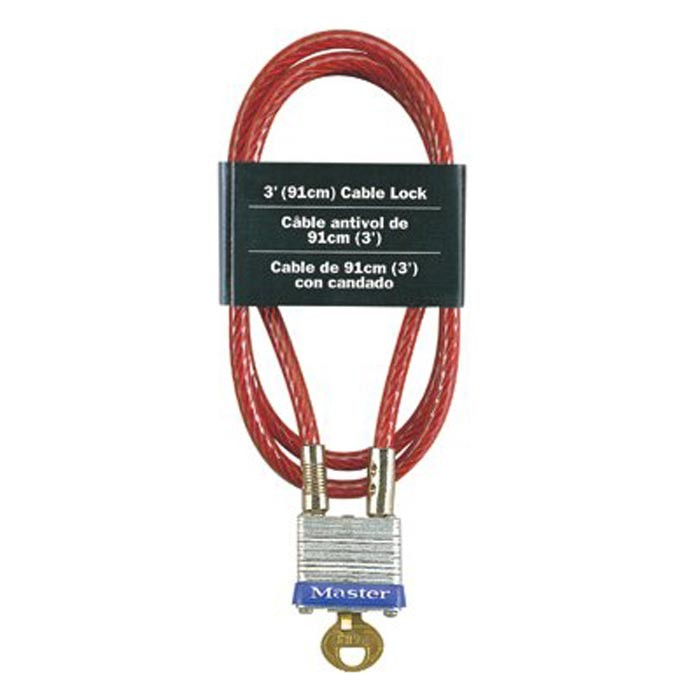 No. 719 Cable Locks Master Lock 3Ft Cable