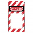 """3""""X5-3/4"""" Styrene Lock-Out Tag Do Not Oper"""