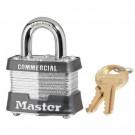 No. 3 Laminated Steel Pin Tumbler Padlocks 4 Pin Tumbler Safety Padlock Keyed Different