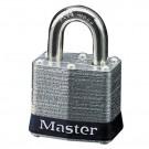 No. 3 2-Pack Laminated Steel Pin Tumbler Padlocks 2 Keyed Alike Locks Carded