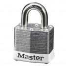 Steel Body Safety Padlocks White Safety Lockout Padlock Keyed Different