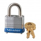 No. 7 Laminated Steel Pin Tumbler Padlocks Master Padlock Kd